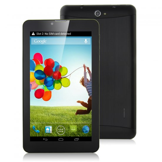 S72 3G Tablet PC 7 0 Inch Dual Core MTK6572W Android 4 2