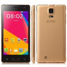 G850 Smartphone Android 4.4 Dual Core 4.5 Inch Screen 256MB 2GB Smart Wake Gold