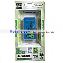 All in one Hi-speed USB 2.0 multislot cardreader /writer(with CE and FCC certicate)