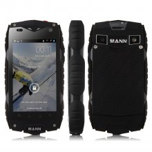 MANN ZUG 3 Smartphone IP68 Android 4.3 Qualcomm MSM8212 Quad Core 4.0 Inch 3G GPS Black