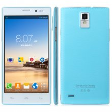 Tengda N907 Smartphone Android 4.4 MTK6572W 5.5 Inch QHD Screen Smart Wake Blue