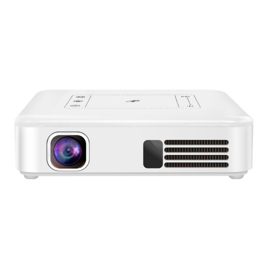 Mini Projector Android 7.1 System 2GB/ 16GB With WIFI Bluetooth 4.0 H265 1080P Output
