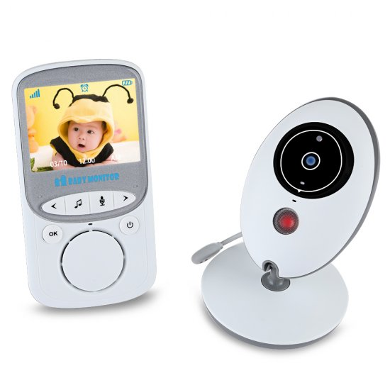 Baby Monitor VB605 2.4GHZ Wirless 2 Way Talk 2.4\'\'LCD Digital Baby Camera 24h Babysitter Audio IR Temperature Portable Monitor