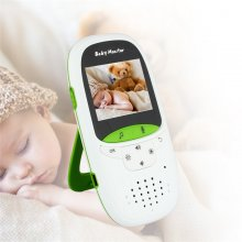 2.4G Wireless Baby Monitor 2 Inch Electronic Babysitter Security Camera Two-way Audio Night Vision Temperature Monitoring