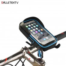 Bike Bicycle Phone Bag Rainproof Touch Screen Frame Tube Cell Phone Holder 6 inch cycling Mount Handlebar Bags MTB