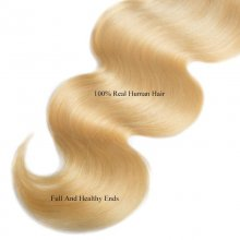 Cube Wig Brazilian Body Wave 613 Blonde Hair 4x4 Swiss Lace Closure 100 Human Hair Closure Free Part 10-20 Inch