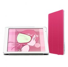 "Removable Ultra-Thin PU Leather Case Cover for 9.7"" Teclast X98 Air II/X98 Air 3G Rose"