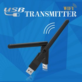 USB 2.0 Wifi Adapter Ralink RT5370 speed up to 150Mbps 2dB Antenna PC Wi-fi Receiver Wireless