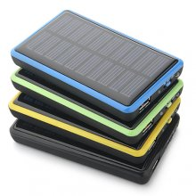 2600mAh Solar Charger Emergency Charger for iPhone HTC Nokia