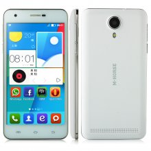 M-HORSE S80 Smartphone Android 4.4 MTK6582 Quad Core 1GB 8GB 5.0 Inch White