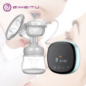Electric Breast Pump Natural Suction Enlarger BPA Free Nipple Suction Low Noise Usb charging Breast Pump Electric