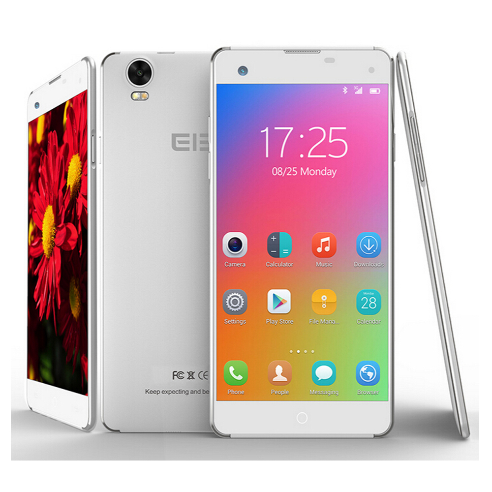 Phone Cheap Big Screen Android Phones sku60608 jpg elephone g7 smartphone android 4 mtk6592m 1gb 8gb 5 inch 3g silver