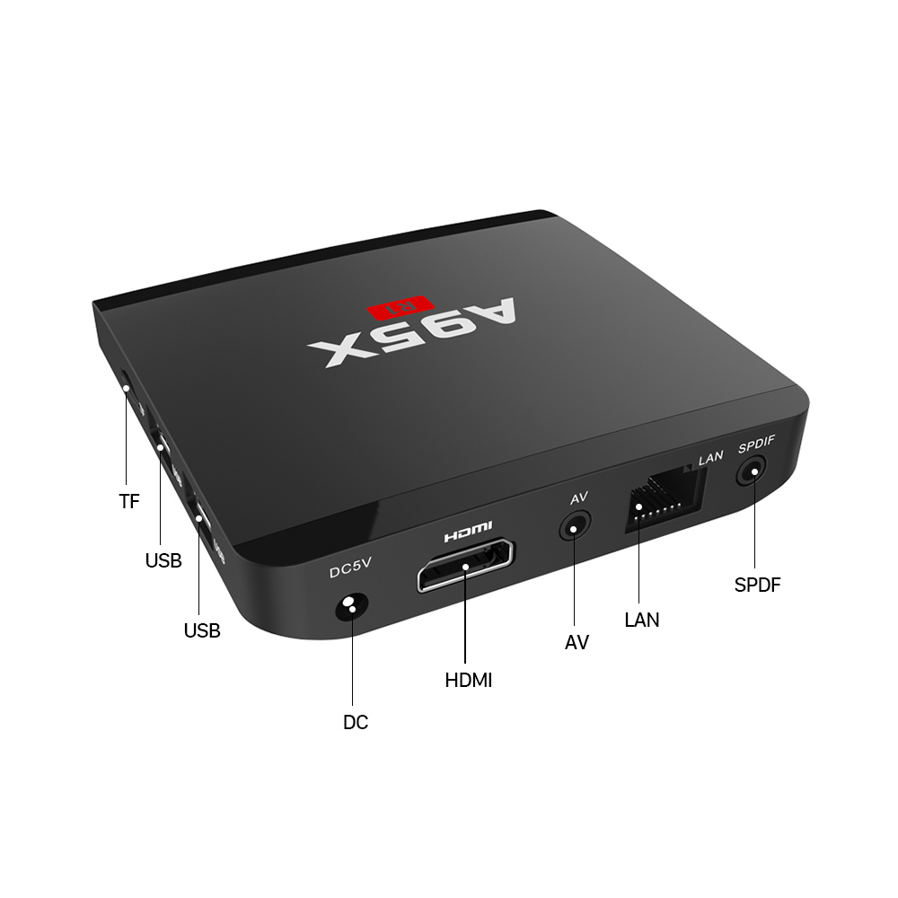 1G/8G 2G/16G QHDTV PRO Abonnement 1 Year IPTV French Arabic A95X R1 Amlogic S905W Android 7.1 TV Box Europe French Arabic IPTV Box