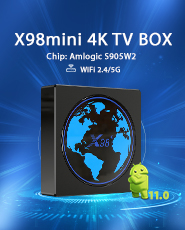X96mini with Bests Arabic QHDTV