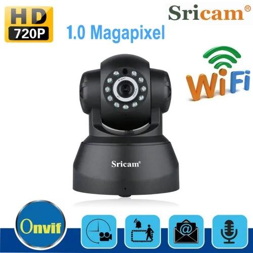Sricam Wireless 720P Security Network CCTV IP Camera Night Vision WIFI Webcam MX