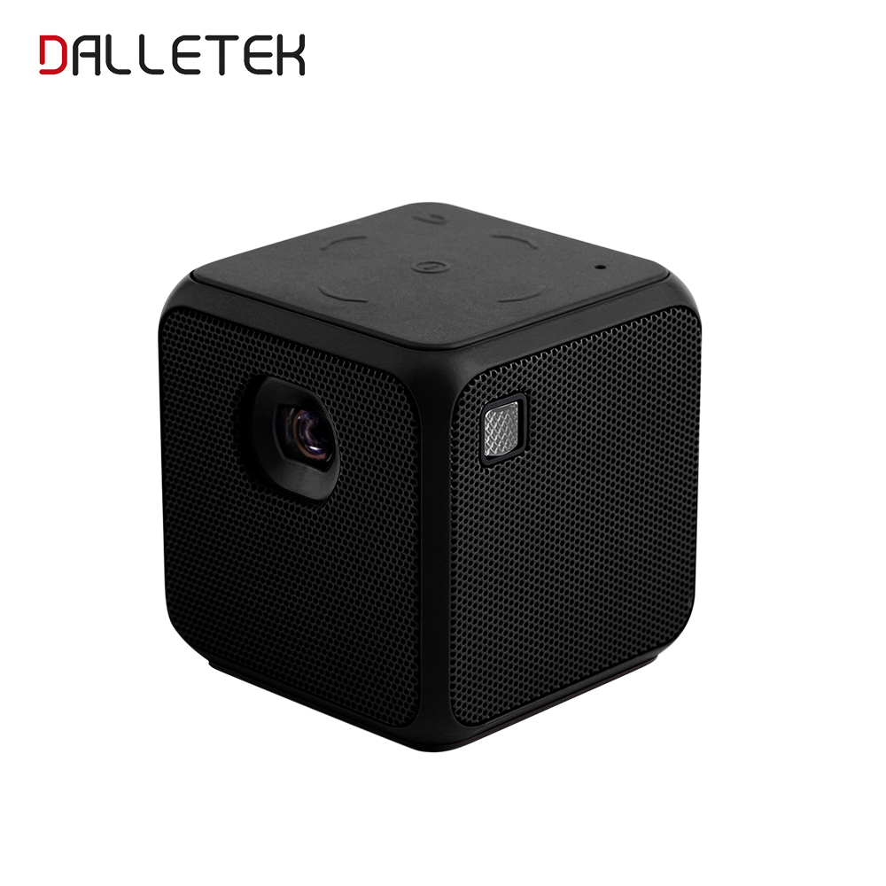 Wireless Mini Projector Android 5.2 Wifi & Bluetooth 4.1 M5 Mini Projector Wathing TV Any Time Any Where.