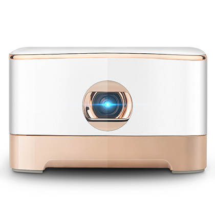 Wireless Beam Mini Projector Android 5.1 System Micro HDMI Video Input 5Ghz WiFi & Bluetooth 4.1, Support  Android & IOS Devices Connection
