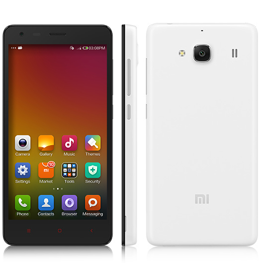 XIAOMI Redmi 2 Smartphone 64bit 4G Quad Core 4.7 Inch HD Screen 8.0MP GLONASS- White