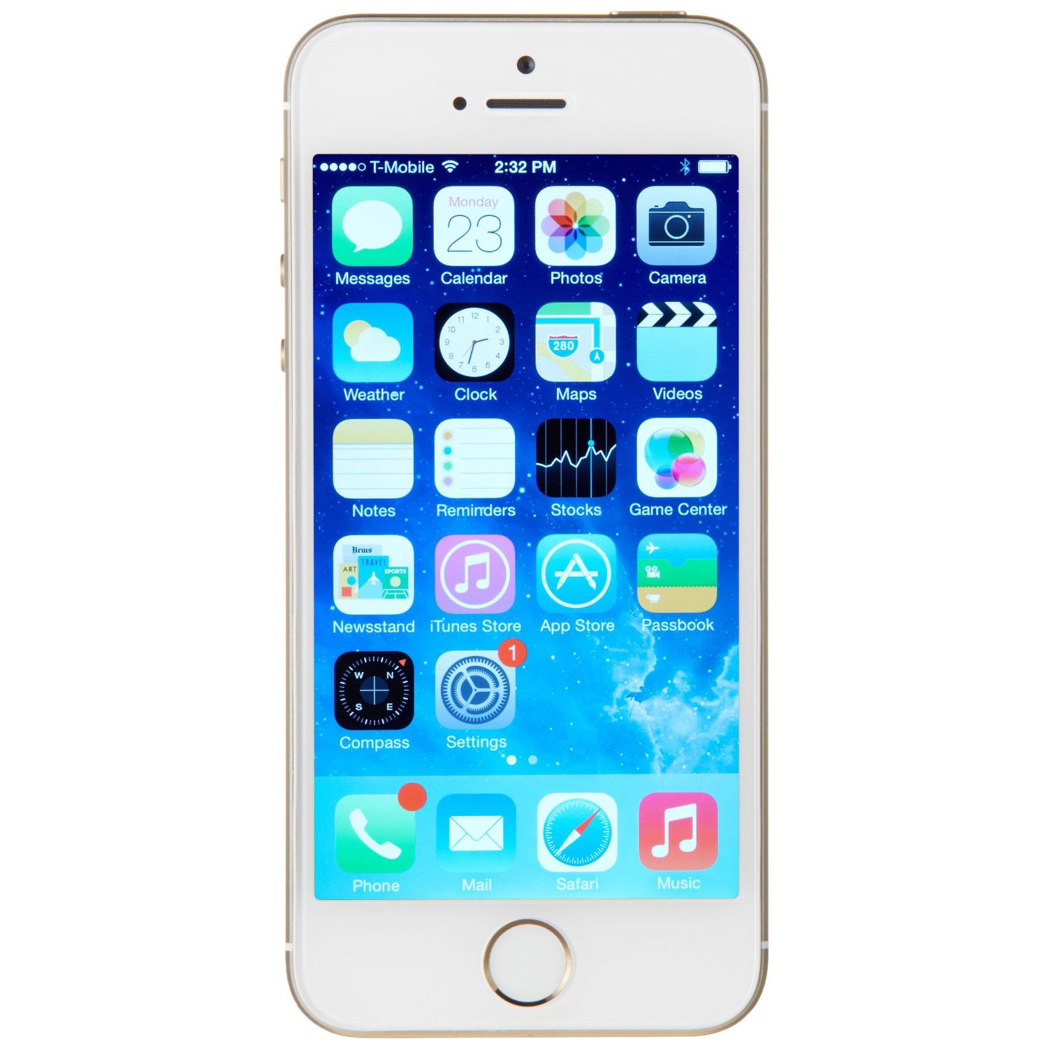 Used Apple iPhone 5S 16GB -Gold Excellent Condition