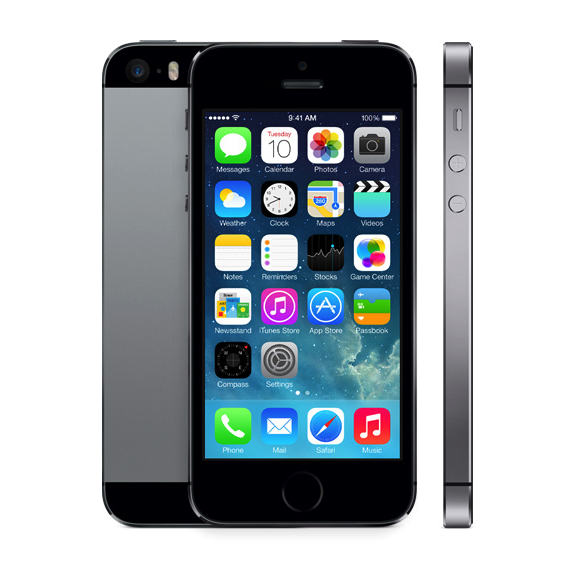 Used Apple iPhone 5S 64GB -Space Grey Excellent Condition