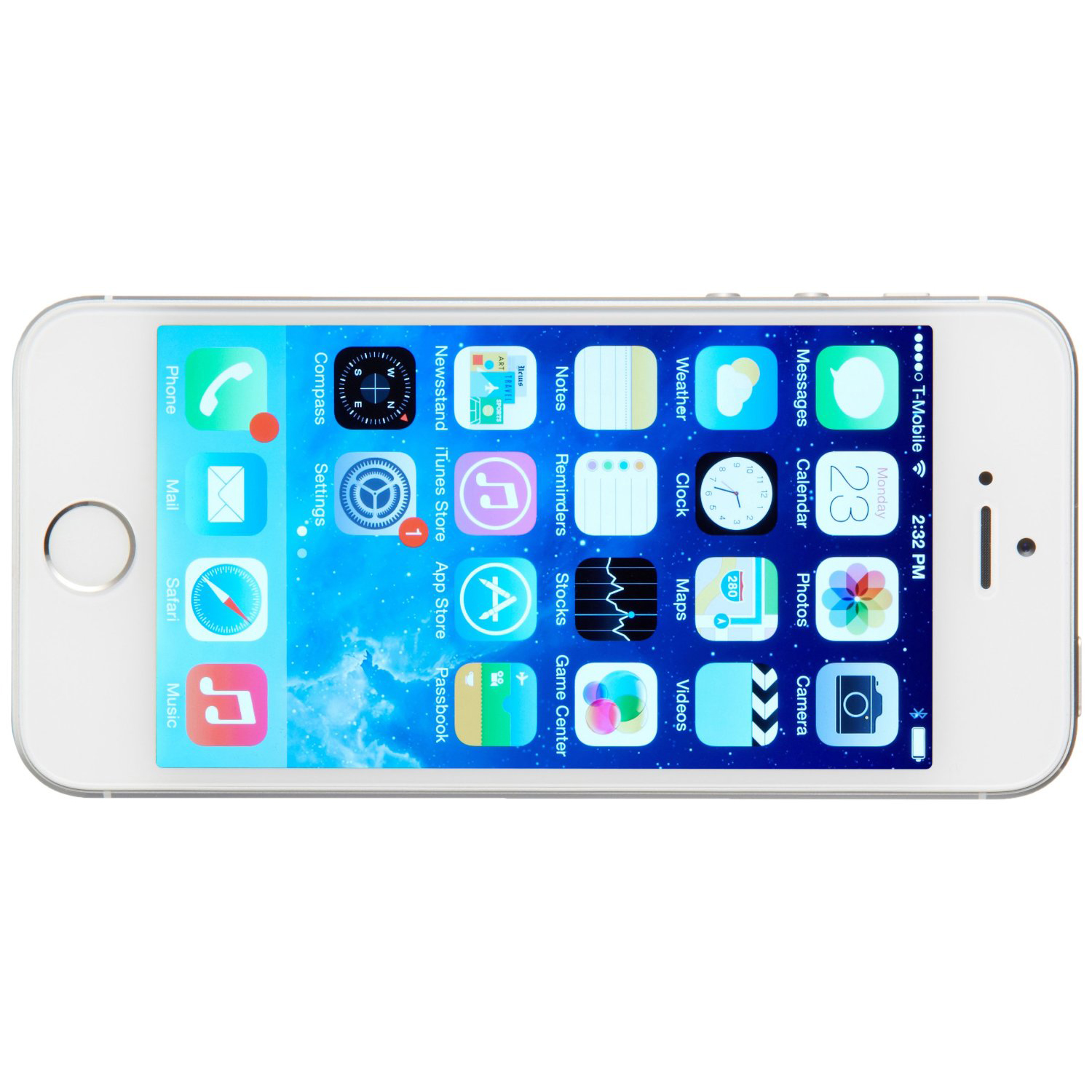 Used Apple iPhone 5S 64GB -Silver Excellent Condition