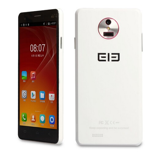 Elephone P3000 Smartphone 4G LTE Android 4.4 Quad Core 5.0 Inch HD Screen 3150mAh White