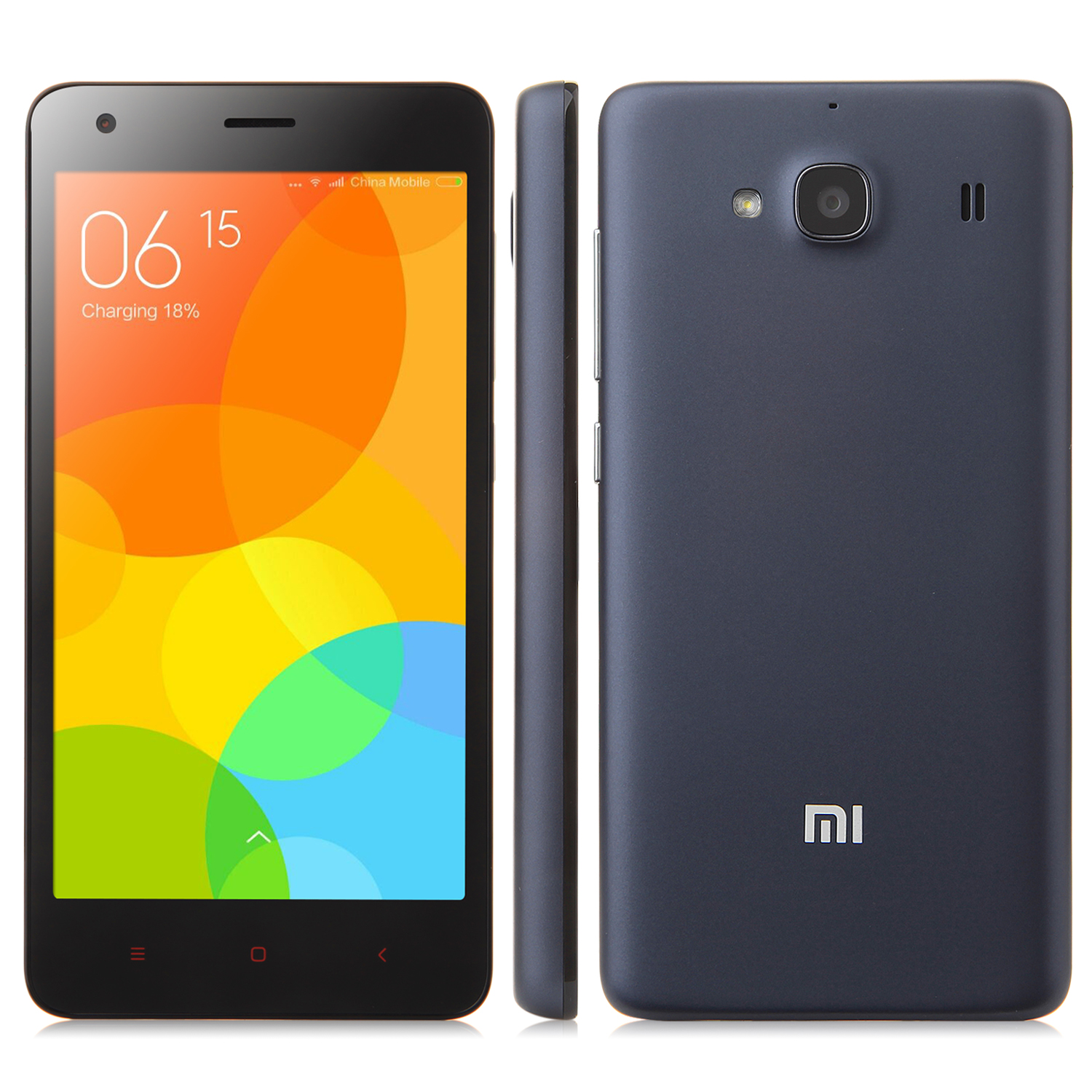 XIAOMI Redmi 2A 4G Smartphone Quad Core 1GB 8GB 4.7 Inch HD Screen 8.0MP GLONASS Black