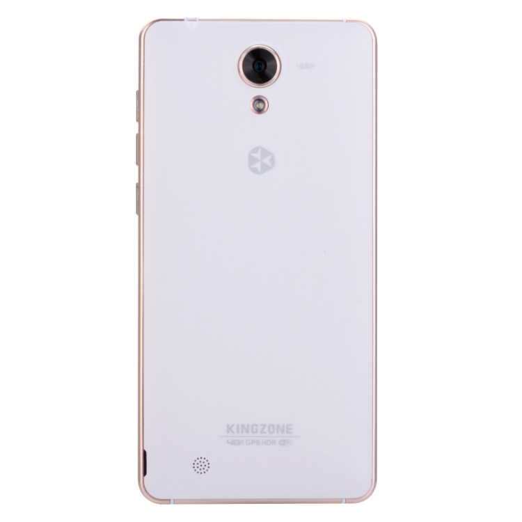 KINGZONE N5 4G Smartphone 5.0 Inch HD 64bit MTK6735 1.0GHz Android 5.1 2GB 16GB White