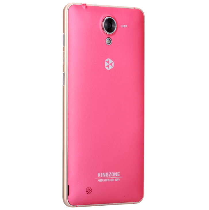 KINGZONE N5 4G Smartphone 5.0 Inch HD 64bit MTK6735 1.0GHz Android 5.1 2GB 16GB Rose