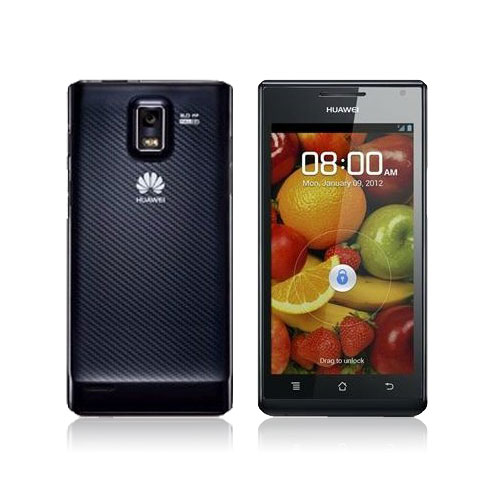 HUAWEI Ascend P1 Smartphone 4.3 Inch Super AMOLED Screen Android 4.0 3G GPS- Black