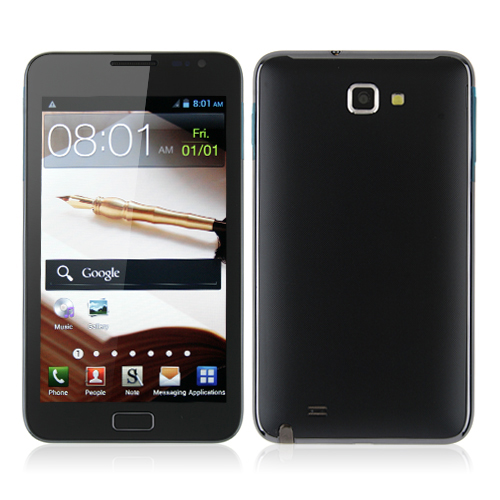 Zhizun I9220 Smart Phone Android 4.0 MTK6575 3G GPS WiFi 5.3 Inch