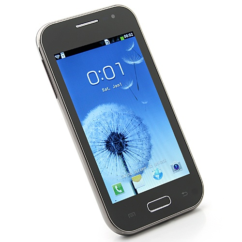 Mini 7100 Smart Phone Android 4.0 OS SC6820 1.0GHz 4.0 Inch 2.0MP Camera- Black