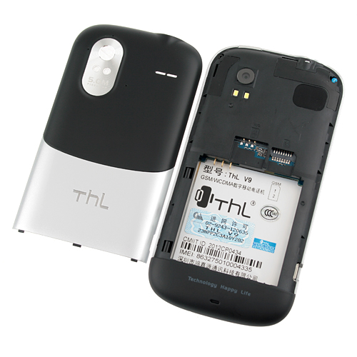 ThL V9 Smart Phone Android 4.0 OS MTK6575 1.0GHz 3G GPS WiFi 4.3 Inch QHD Screen- Black & Silver