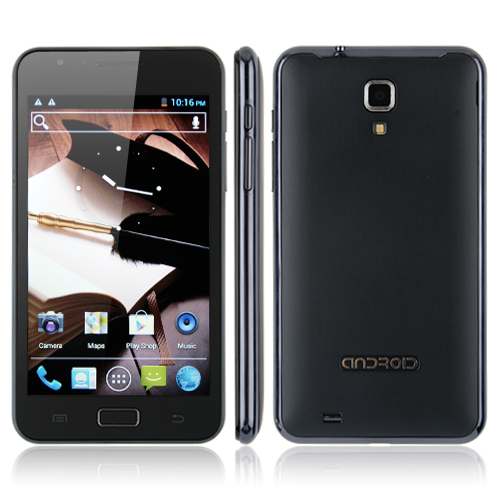 Used Star N9770 Smartphone Android 4.0 MTK6577 Dual Core 3G GPS 8.0MP Camera 5.0 Inch