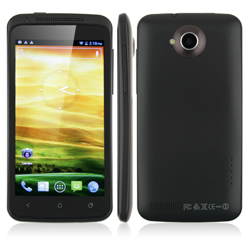 ONE X Pro Smart Phone Android 4.0 MTK6577 1.0GHz 3G GPS WiFi 4.5 Inch QHD Screen