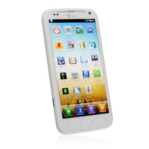 ThL W3+  Smart Phone 4.5 Inch 720P IPS Screen Android 4.0 MTK6577 1G RAM 3G GPS WiFi- White
