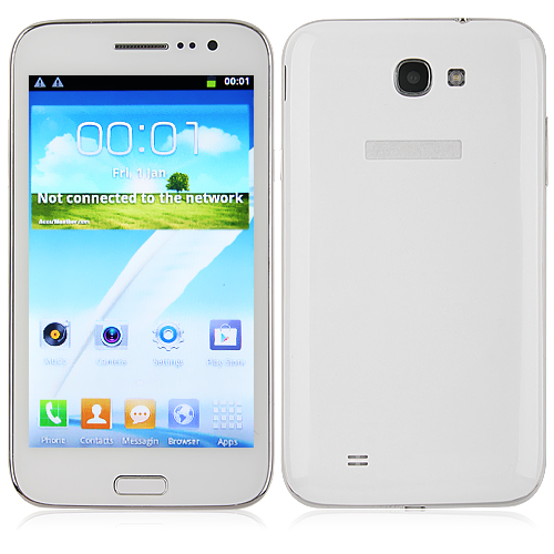 F7100 Smartphone Android 4.1 MTK6575 3G GPS 5.0 Inch Capacitive Screen