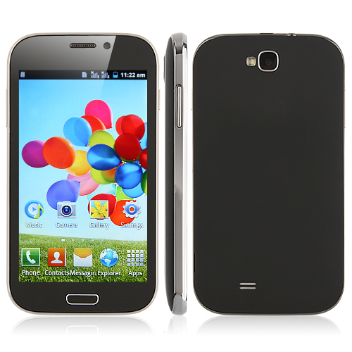 BML9082 Smartphone SC6820 Android 2.3 4.8 Inch Capacitive Screen - Black