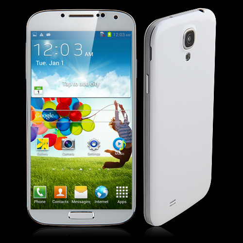 GT-S9189 Smartphone Android 4.2 MTK6589 Quad Core 3G GPS WiFi 5.0 Inch - White