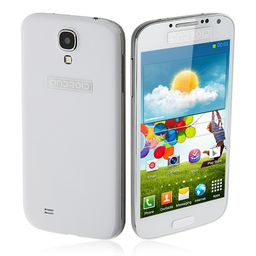 Tengda i9502 Smarphone Android 4.2 MTK6577 Dual Core 3G GPS WiFi 4.7 Inch-White