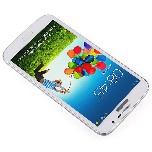 GT-i9200 Smartphone Android 4.2 MTK6572 Dual Core 1.2 GHz 3G GPS 6.0 Inch 4GB - White