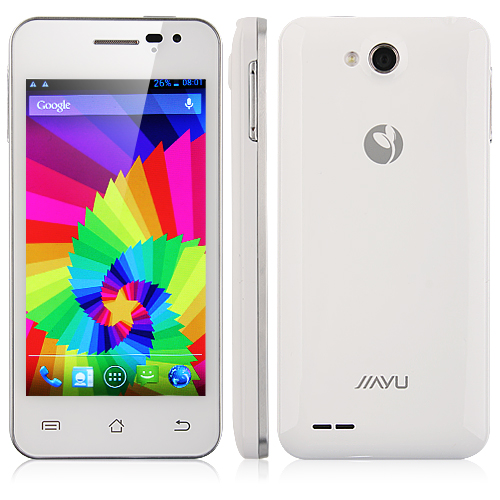 JIAYU G2S Smart Phone Android 4.1 MTK6577T 1.2GHz 1G RAM 4.0 Inch IPS QHD Screen 3G GPS- White