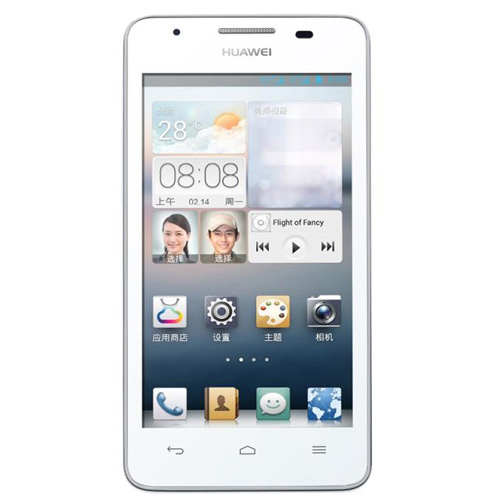 HUAWEI G525 Smartphone MSM8225Q Quad Core 4.5 Inch IPS Screen Android 4.1 3G GPS- White