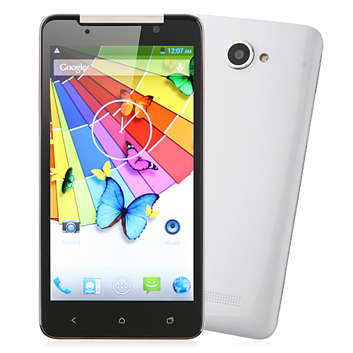 Tianhe H920+ Turbo Smartphone MTK6589T 1.5GHz 5.0 Inch 1080P FHD Screen Android 4.2- White