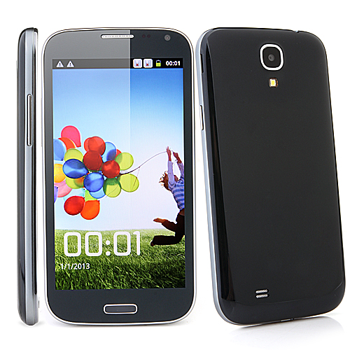 I9500JK Smartphone Android 2.3 MTK6515 1.0GHz WiFi 5.0 Inch Capacitive Screen- Black