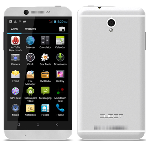 Cubot One Smartphone Android 4.2 MTK6589T Quad Core 4.7 Inch HD IPS Screen- Silver