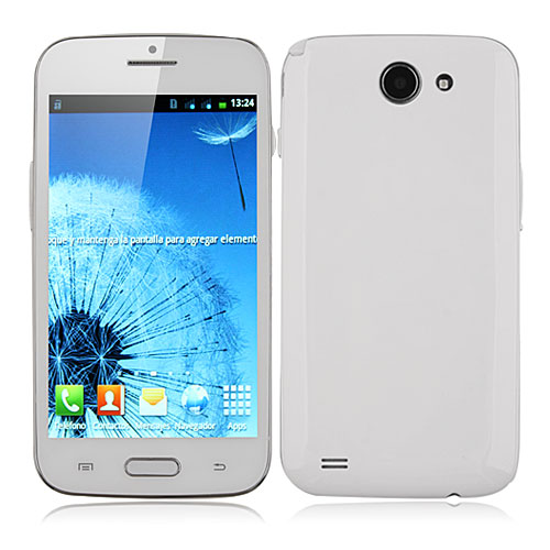 Tengda J9500 Smartphone Android 4.0 MTK6517 Dual Core 5.0 Inch 3.0MP Camera- White