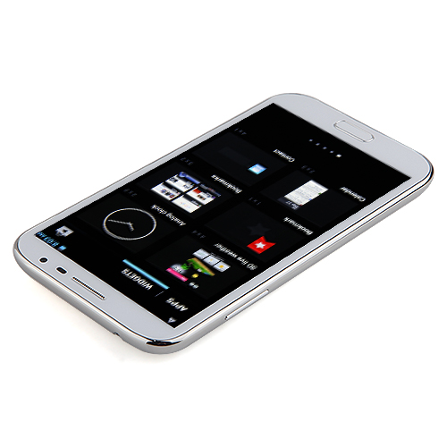 N8971 Smartphone Android 4.2 MTK6589 Quad Core 1GB 8GB 5.7 Inch HD Screen- White
