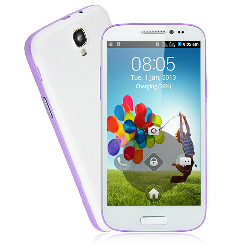 Tengda GT-T9500 Smartphone Android 2.3 OS SC6820 1.0GHz 5.0 Inch 3.0MP Camera- Purple