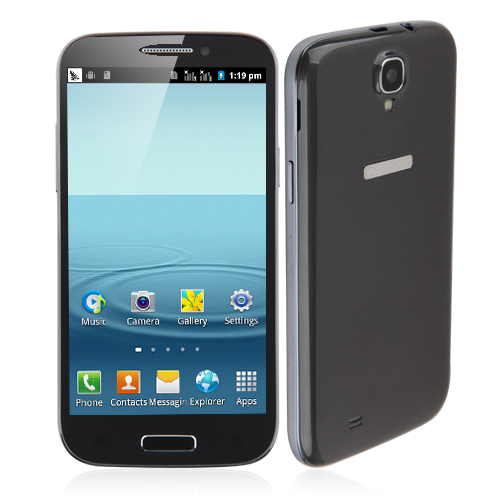 Tengda GT-T9500 Smartphone Android 2.3 OS SC6820 1.0GHz 5.0 Inch 3.0MP Camera- Grey